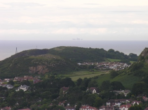 Great Orme from Conwy mountain